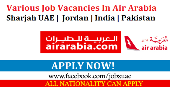Arabia careers free staff recruitment now at air arabia - Air arabia sharjah office ...