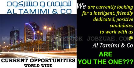 Recruiting Now!AL TAMIMI & COMPANY - Abu Dhabi|Amman|Cairo ...